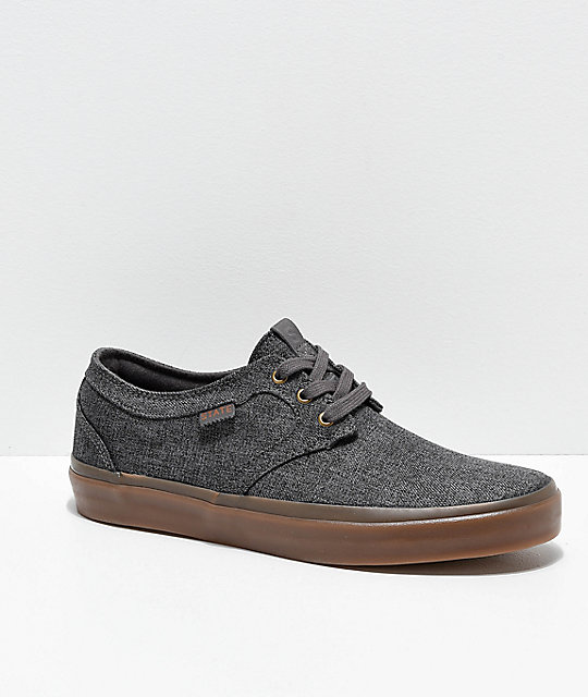 State Bishop zapatos de skate de cambray gris oscuro