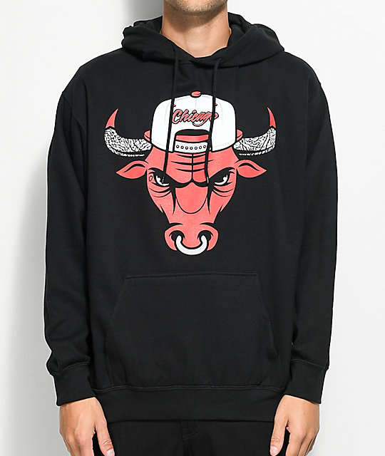 State Of Mind IL Cement Bully Black Hoodie