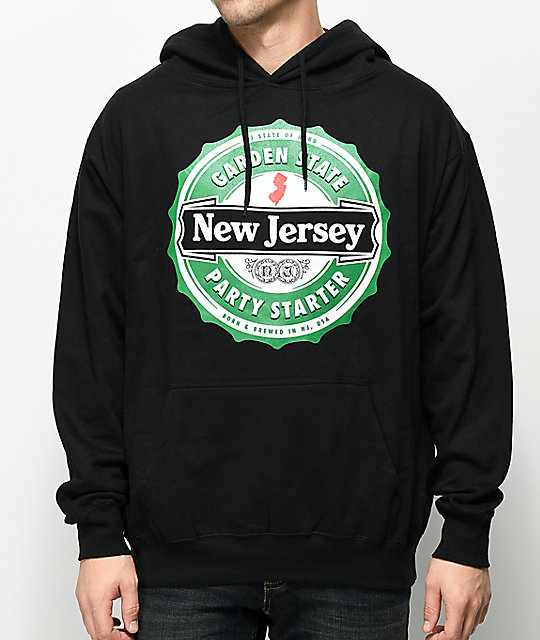 State Of Mind NJ Cap Black Hoodie