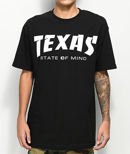 State Of Mind TX Magazine Black T-Shirt
