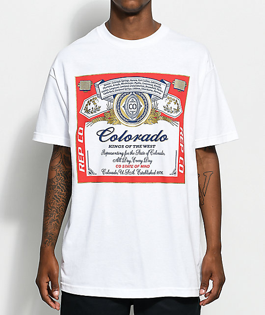 State of Mind CO Weiser White T-Shirt