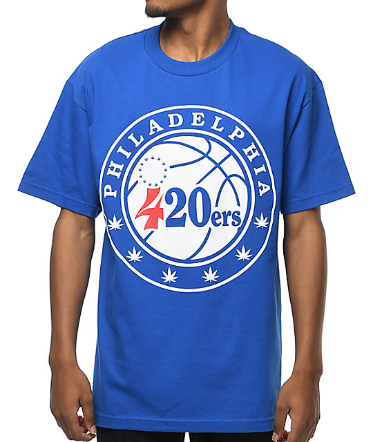 State of Mind PA 420ers Blue T-Shirt