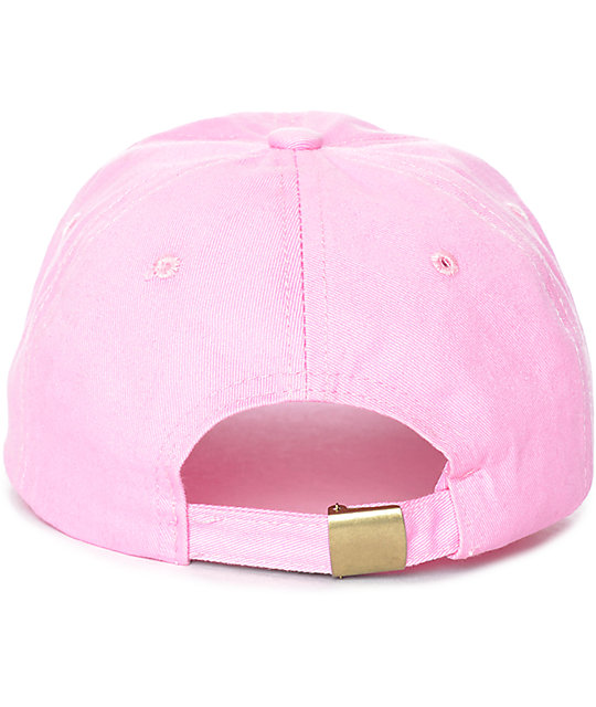 Stay Cute Fight Like A Girl gorra béisbol rosa