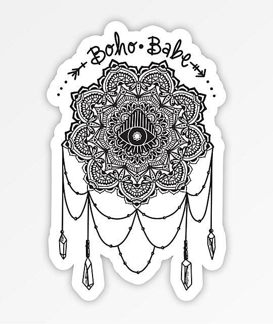 Stickie Bandits Boho Catcher Sticker