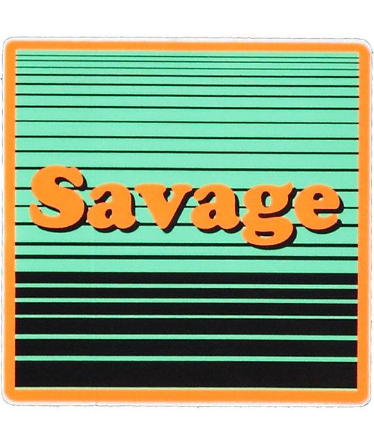 Stickie Bandits Savage Box Sticker