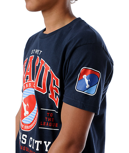 Street League Kansas City Navy Blue T-Shirt