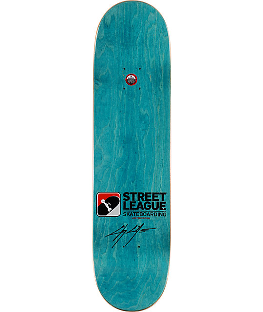 "Street League Series x Zero Cole Signature 8.25""  Skateboard Deck"