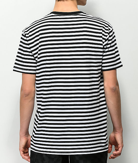 Succ Lil Mayo Black & White Striped T-Shirt