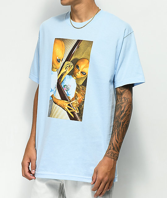 Succ Lil Mayo Mirror Light Blue T-Shirt