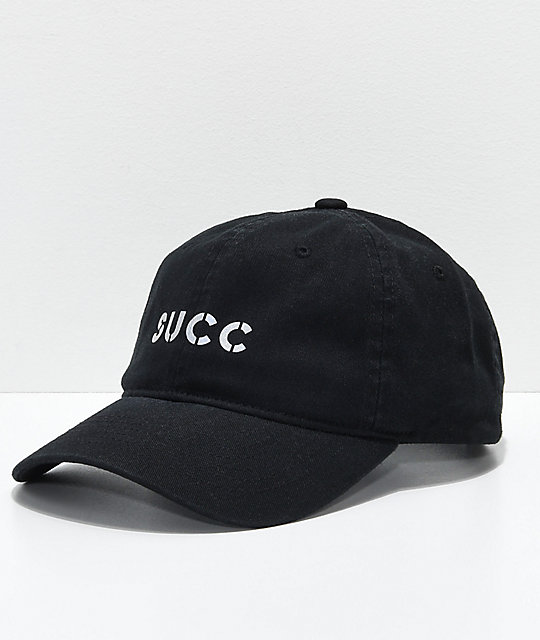Succ Reflect Logo Black Baseball Hat