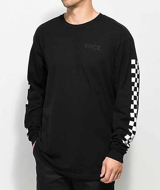 Succ Sorry 4 Everything Black Long Sleeve T-Shirt