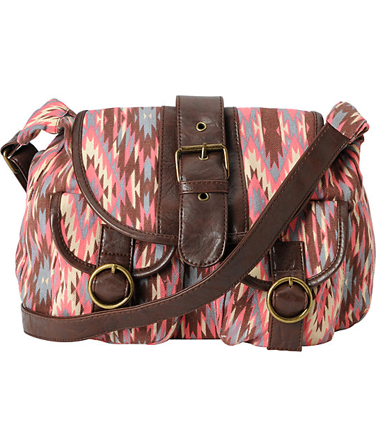 Super Trader Tribal Pink Purse