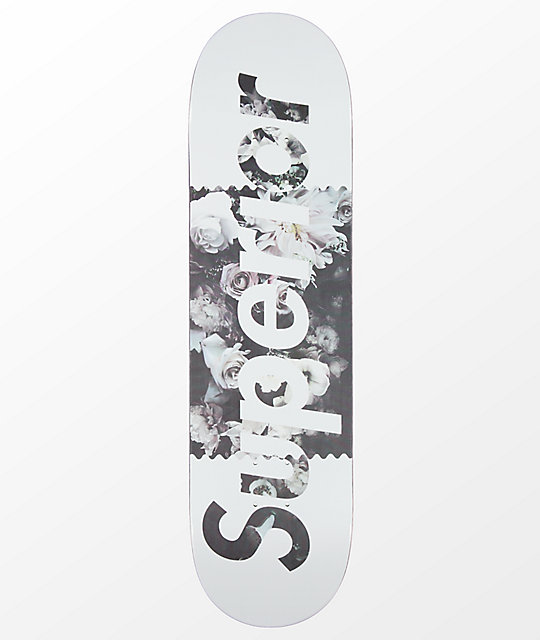 "Superior Floral 8.4"" Skateboard Deck"