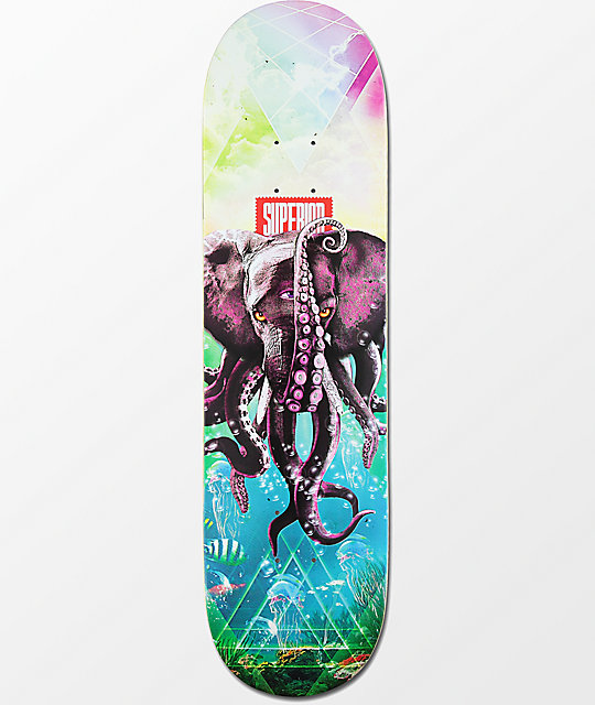 "Superior Tentacles 8.25""  Skateboard Deck"