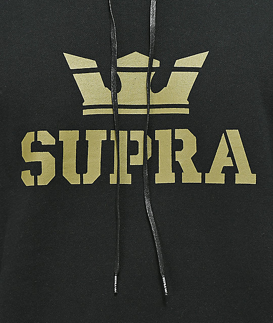 Supra Above Black & Green Hoodie
