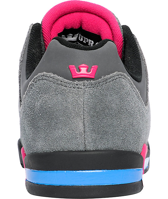 Supra Avenger Black, Grey & Blue Shoes