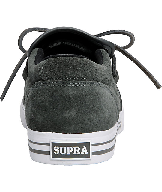 Supra Cuban 1.5 Grey Suede Shoes
