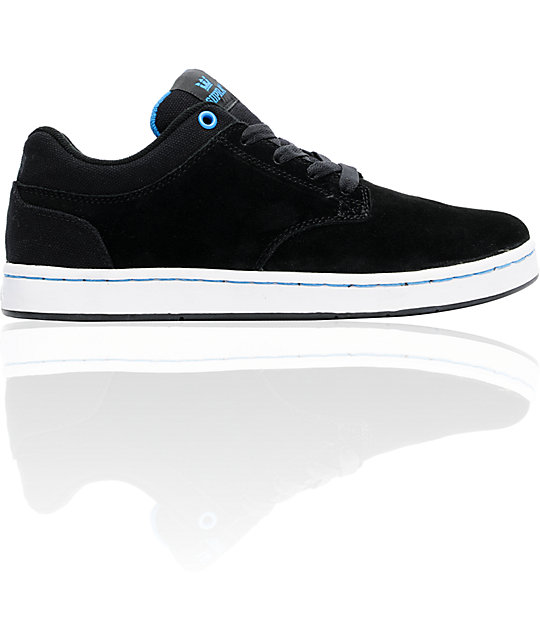Supra Dixon Black Suede Shoes