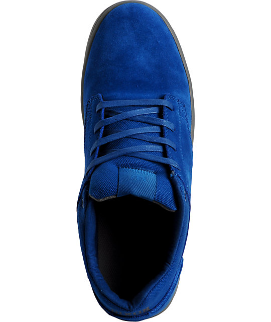 Supra Dixon Dodger Blue & Grey Shoes