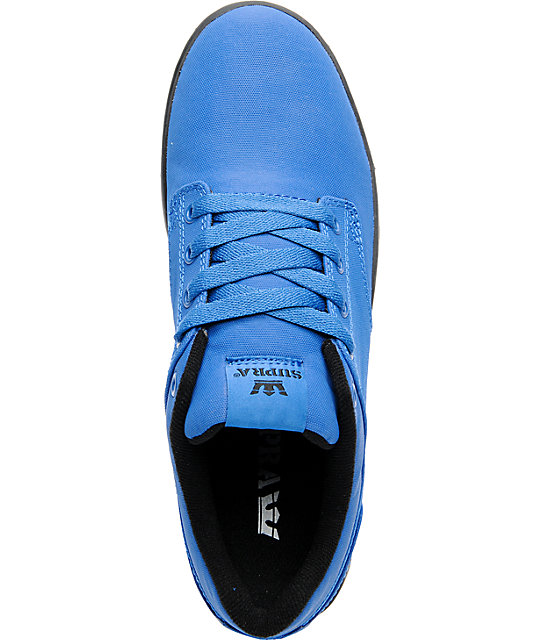 Supra Dixon Royal Blue Express TUF Canvas Skate Shoes