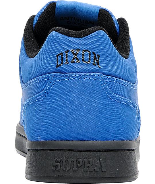 Supra Dixon Royal Blue Express Tuf Canvas Skate Shoes Zumiez