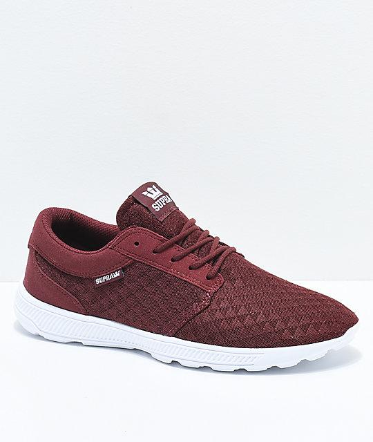 d27b66d12c9 Supra Hammer Run Andorra Red Triangle Mesh Shoes