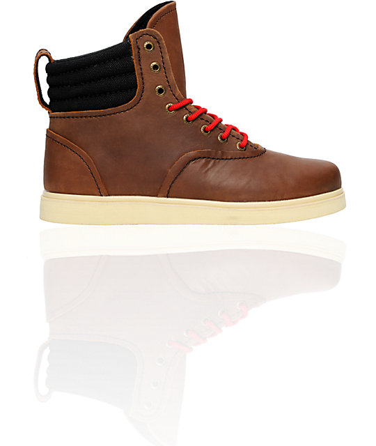 Supra Henry Brown Leather Boot