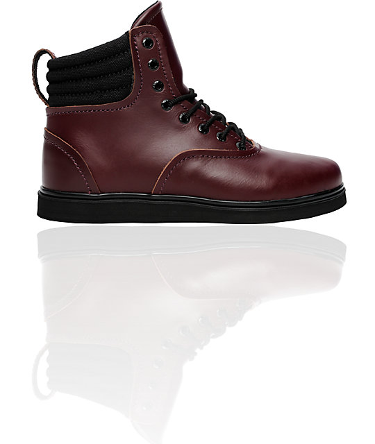 Supra Henry Ox Blood Leather Boot