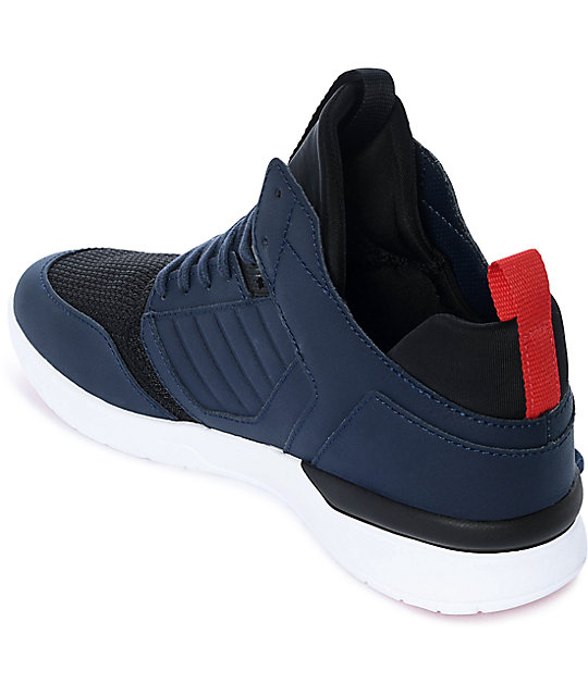 Supra Method Navy Nubuck Shoes