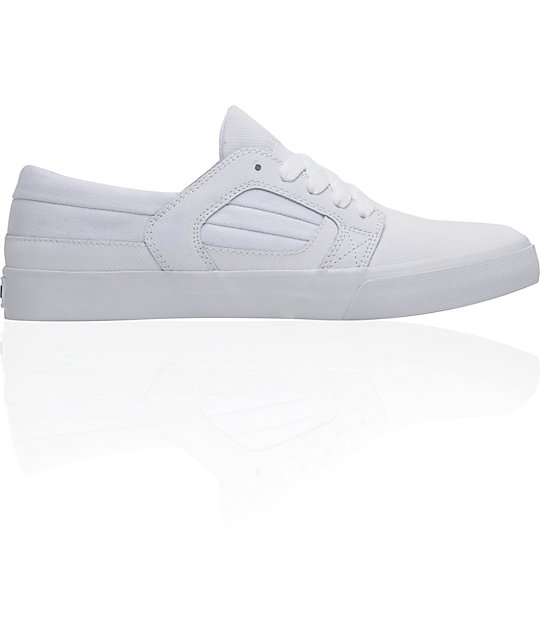 Supra Muska Skylow 2 White Raptor TUF Skate Shoes