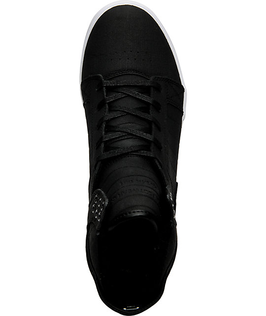 Supra Muska Skytop Tuf Black Skate Shoes