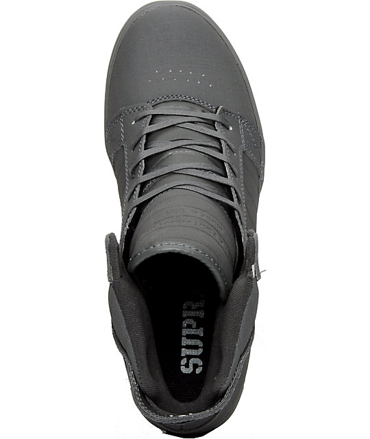 Supra Muska Skytop Tuf Grey Gunny Shoes