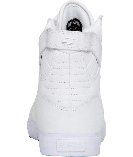 Supra Muska Skytop Tuf White Gunny Shoes