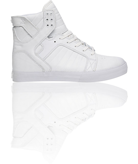 Supra Muska Skytop White Duct Tape Shoes