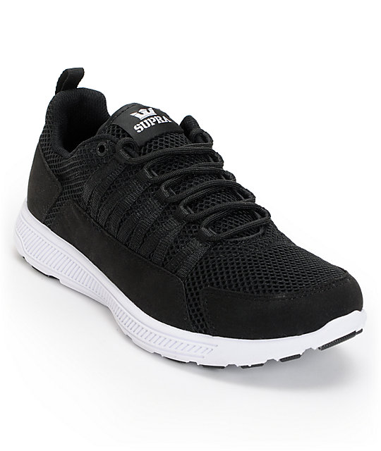 Supra Owen Black   White Shoes  8062f576e023