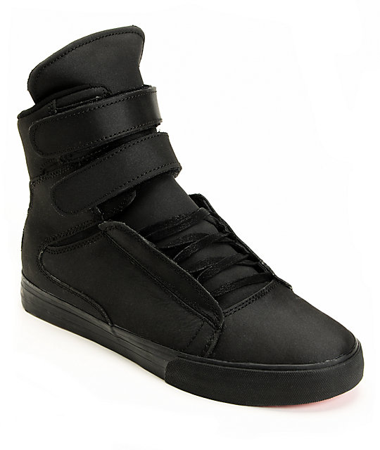 Supra Red Carpet Edition TK Society Tuf Black Shoes