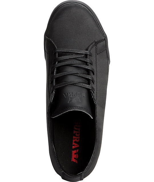 Supra Red Carpet Edition Thunder Low Tuf Black Shoes
