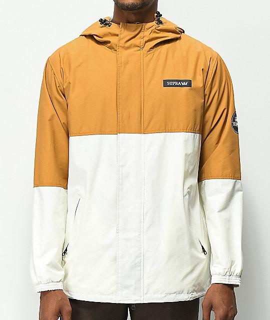 c4d96ace2 Supra Shifting Tan & Off White Jacket