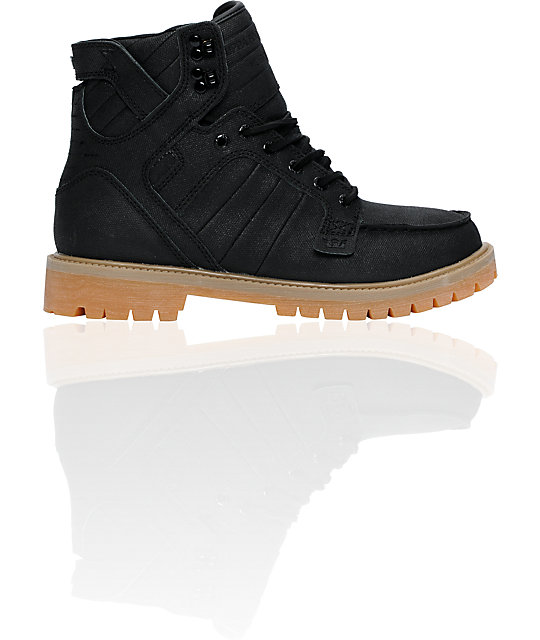18ec0e718513 Supra Skyboot Black Tuf   Gum Boot