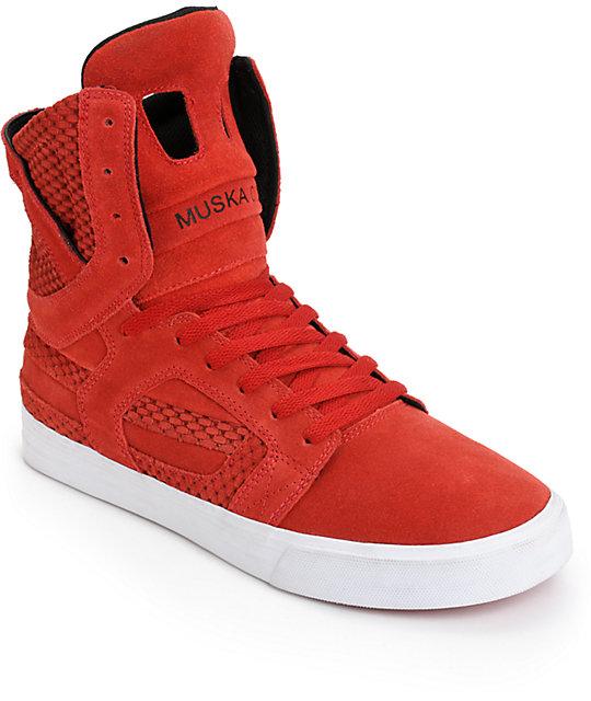 Supra Skytop High Top Skate Shoes