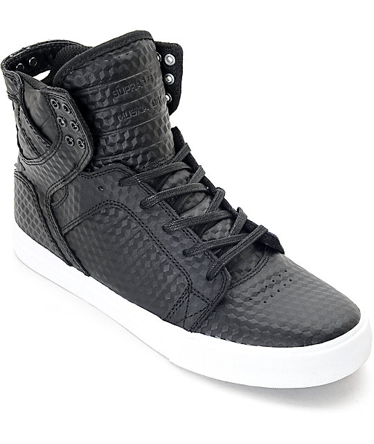 Supra Vaider Black Skate Shoessupra shoes blacksupra vaider greynew collection