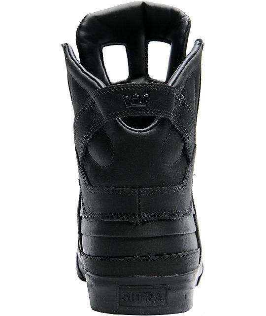 Shoes Supra Skytop II Black Satin Tuf sNaTJ