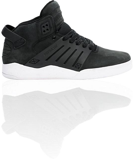 0da72c350208 Supra Skytop III Black Nubuck Shoes