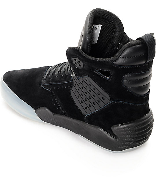 28bebef80b23 ... Supra Skytop IV Black Translucent Skate Shoes ...