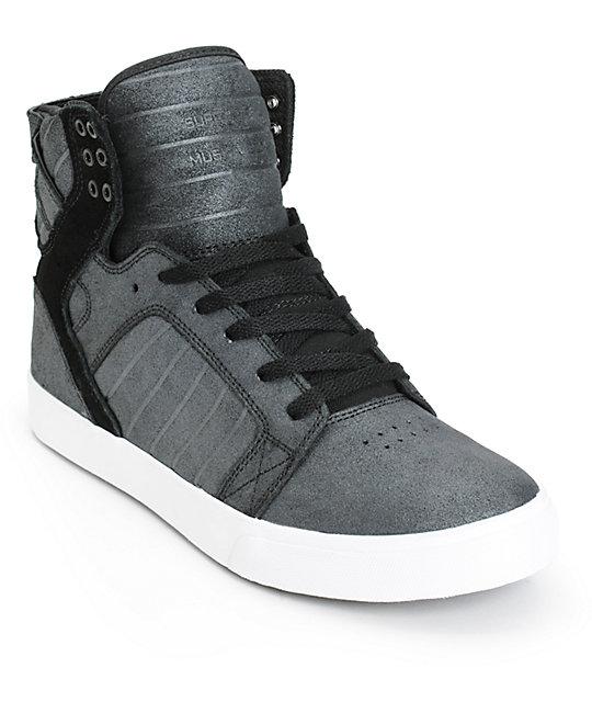 624ca3695634 Supra Skytop Metallic Skate Shoes