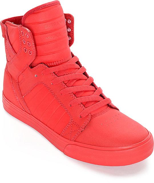 e4bc47cc15a4 Supra Skytop Mono Tuf Satin Skate Shoes
