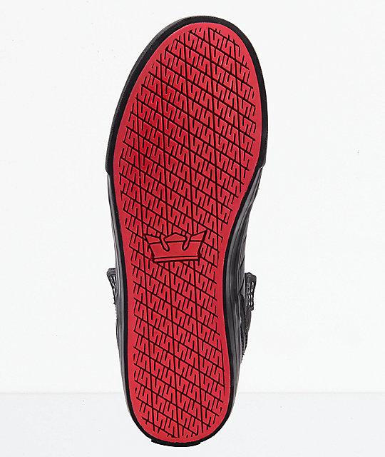 Supra Skytop Muska Red Carpet Edition Tuf Black Skate