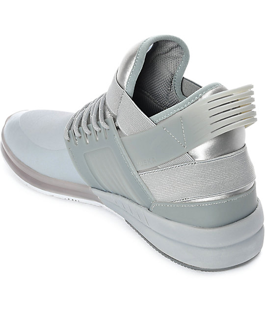 Supra Skytop V Grey Skate Shoes
