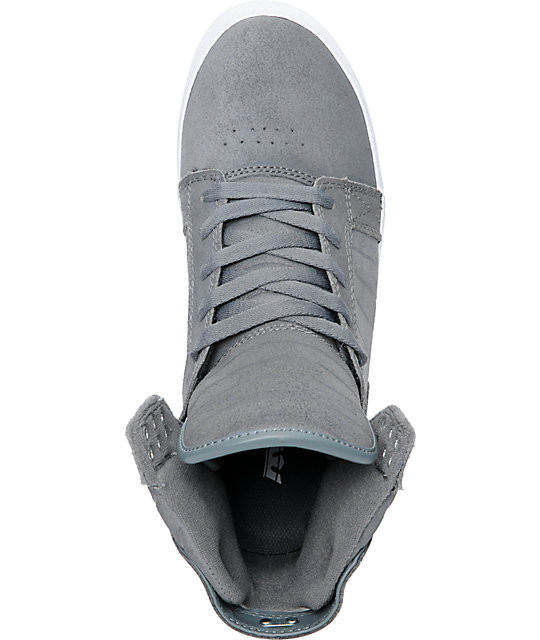 Supra Skytop Waxed Suede Skate Shoes