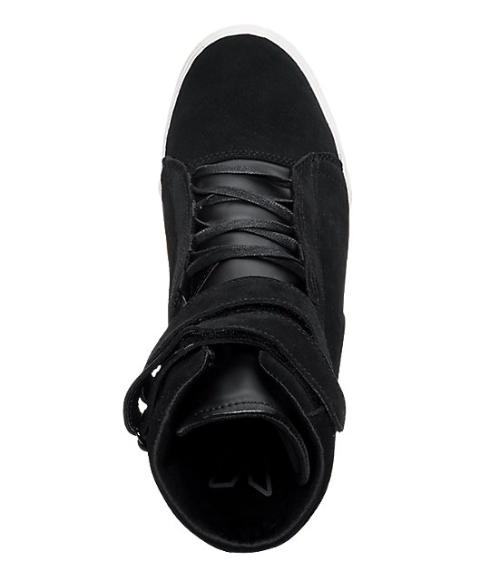 Supra TK Society Black Suede Shoes